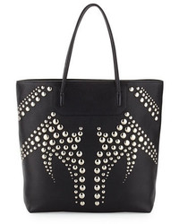 Alexander Wang Prisma Studded Pebbled Leather Tote Bag