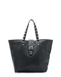 RED Valentino Red Studded Flower Shopper Tote