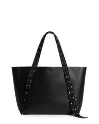 AllSaints Sid Eastwest Leather Tote