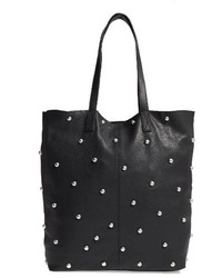 Topshop Taylor Studded Shopper Black