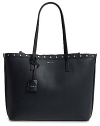 Yselle studded leather tote black medium 1195588