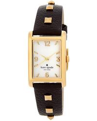 New york cooper pyramid stud leather strap watch medium 241714