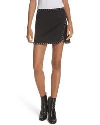 Helmut Lang Studded Miniskirt