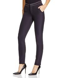 Rebecca Taylor Studded Waist Skinny Pants