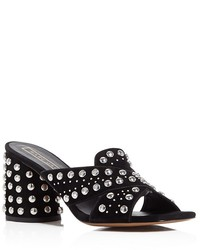Marc Jacobs Aurora Studded Slide Sandals