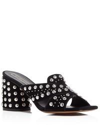 Marc Jacobs Aurora Studded Slide Sandals