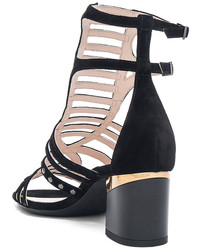Lanvin Multi Strap Studded Sandals