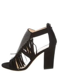 Giuseppe Zanotti Studded Fringe Sandals