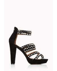 Forever 21 Total Stud Platform Sandals