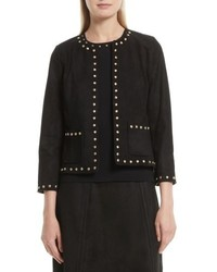Kate Spade New York Studded Suede Jacket