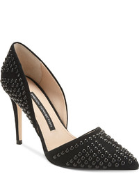 French Connection Ellis Dorsay Pointed Toe Pumps