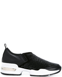 Ermanno Scervino Studded Slip On Sneakers