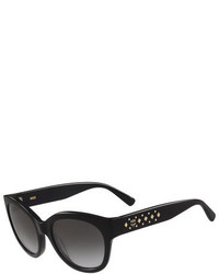 MCM Studded Cat Eye Sunglasses Black