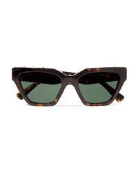Valentino Studded Cat Eye Acetate Sunglasses