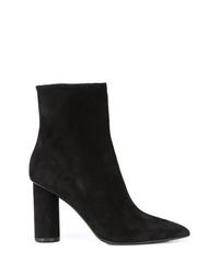 Oscar de la Renta Block Heel Ankle Boots