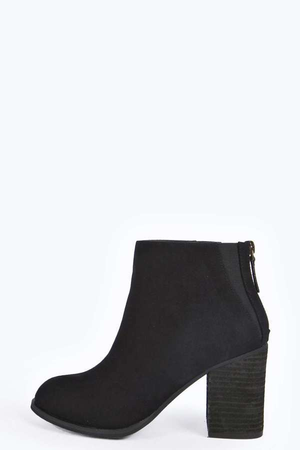 a178a4a2841c ... Boohoo Emily Block Heel Ankle Boot ...