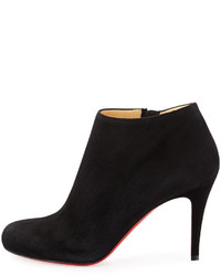 white christian louboutin sneakers - christian louboutin round-toe ankle boots Black suede | The ...