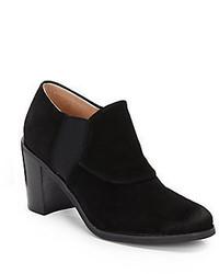 Ellen Tracy Lenox Suede Ankle Boots