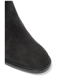 buy online 612a5 9b900 Christian Louboutin Karistrap 70 Suede Ankle Boots Black ...