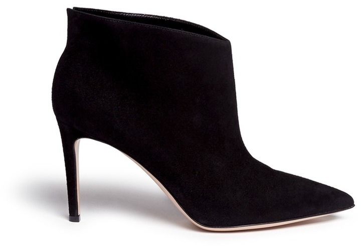 Gianvito Rossi Suede Ankle Boots marketable cheap online for nice online DctUt