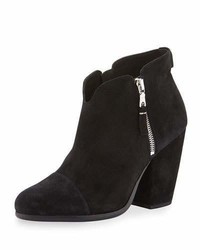 Rag & Bone Margot Suede Ankle Boot Black