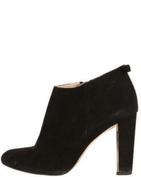 Kate Spade New York Suede Semi Pointed Toe Ankle Boots