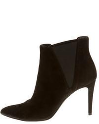 Emporio Armani Suede Ankle Boots