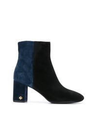 Tory Burch Velvet Ankle Boots