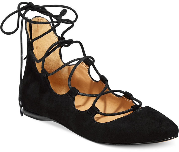... Ballerina Shoes Nine West Signmeup Lace Up Flats ...