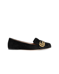 Gucci Suede Ballerina Shoes