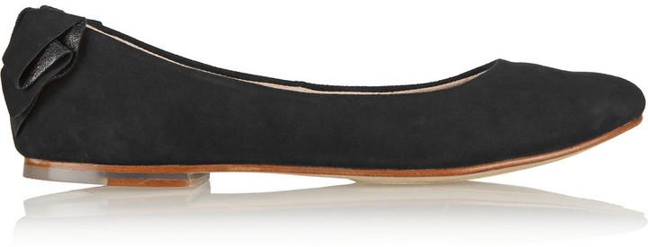 Bloch Bow Leather Flats online cheap online SHBBHB6