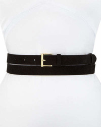 Frame Double Wrap Suede Leather Belt