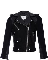 IRO Adila Suede Leather Moto Jacket