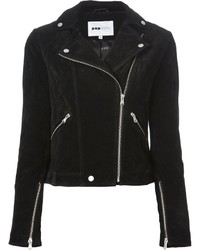 Pop cph suede biker jacket medium 141580