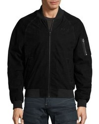 G Star G Star Raw Attacc Suede Bomber