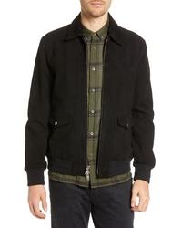 Baldwin Regular Fit Suede Western Jacket