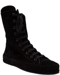 Ann Demeulemeester High Top Sneakers