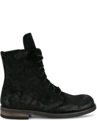 ANN DEMEULEMEESTERSuede Creased Boots HfFSemgyZv