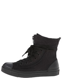 All White Combat Boots - Yu Boots