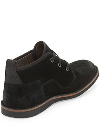 John Varvatos Star Suede Chukka Boot Black | Where to buy & how to ...