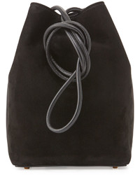 Tom Ford Suede Small Tassel Bucket Bag Black   Where to buy   how to ... 0f23b040cf02