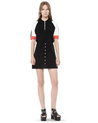Alexander Wang Stretch Suede Mini Skirt