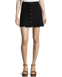 Isabel Marant Anna Suede Button Down Skirt