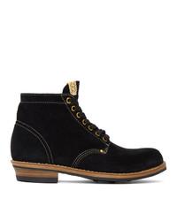 VISVIM Black Brigadier Folk Boots