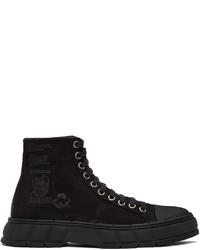 Viron Black Faux Suede 1992 Boots