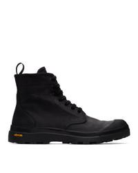 Officine Creative Black Pallet 1 Boots