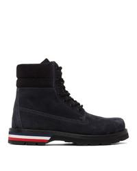 Moncler Black Suede Vancouver Boots