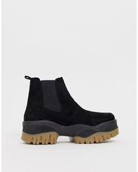 ASOS DESIGN Alvera Chunky Chelsea Boots