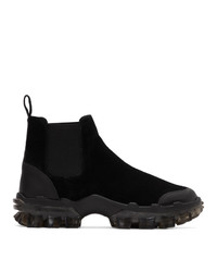 Moncler Black Ayden Chelsea Boots