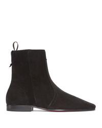 Christian Louboutin Black Cardaboot Boots
